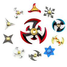 2017 Hot Sales Funny Toy Zinc Alloy Metal Finger Spinner For Autism Anti Stress