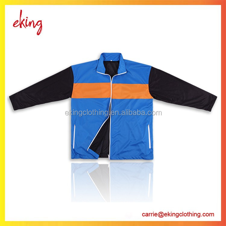 Custom super dry fit 100%polyester sublimation 6xl jacket