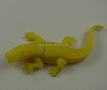 vivid soft pvc alligator usb flash drives
