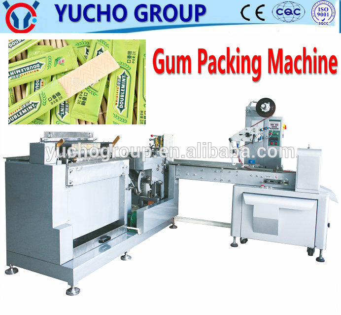 Europe Technology Cachou Two Paper Pillow Packing Machine