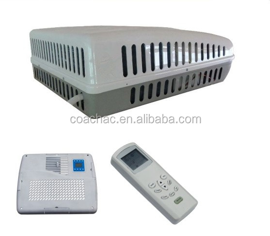 KT-355 Roof mounted 220V, 12 volt, 24v RV air conditioner for cooling and heating RV, Motorhome, boat, caravan