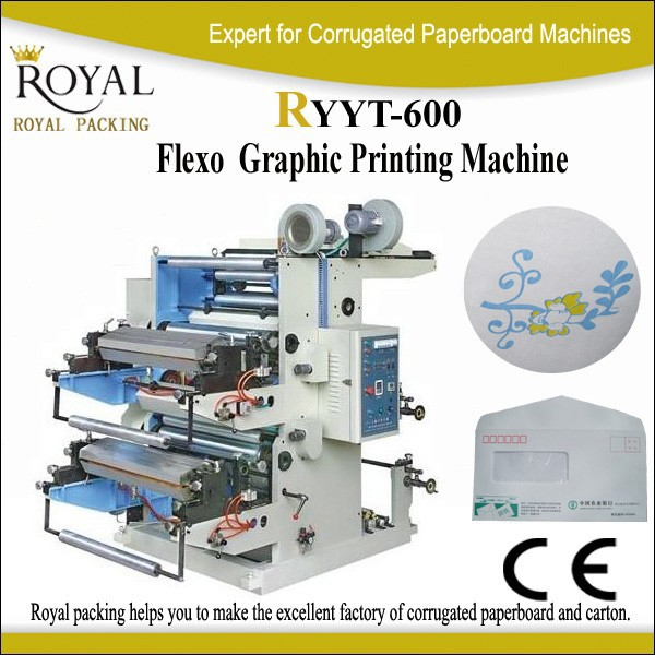 Paper Film Flexography Printing Machine