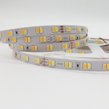 SMD5630 2800-3200K 6000-6500K CCT Flexible Led Strip 24v decoration adjustable color temperature