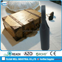 PU leather bottle leather wine carrier