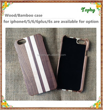 ONE PIECE Wood Phone Case for iPhone5 Wood/Bamboo Phone Cases with soft fabric inside