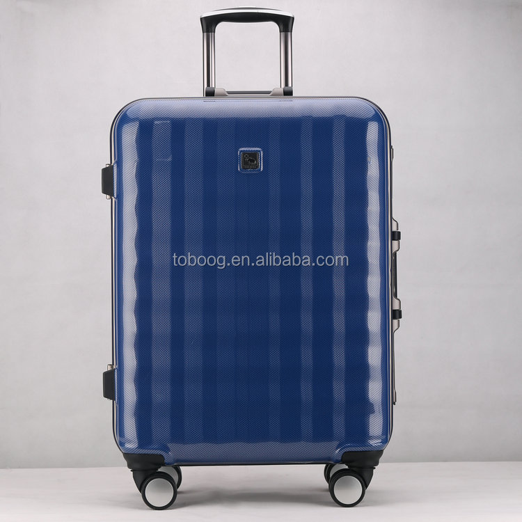 2017 Fashionable ABS+PC Material Luggage Sets,Aluminum Trolley Luggage, Travelling Suitcase