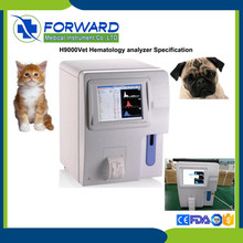 open system 3diff cheapest veterinary Hematology Analyzer price with touch screen/computer blood cell counter
