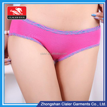 Beautiful lady sexy/colorful thermal hot sexy boxer shorts for girls , girls underwear , women panties