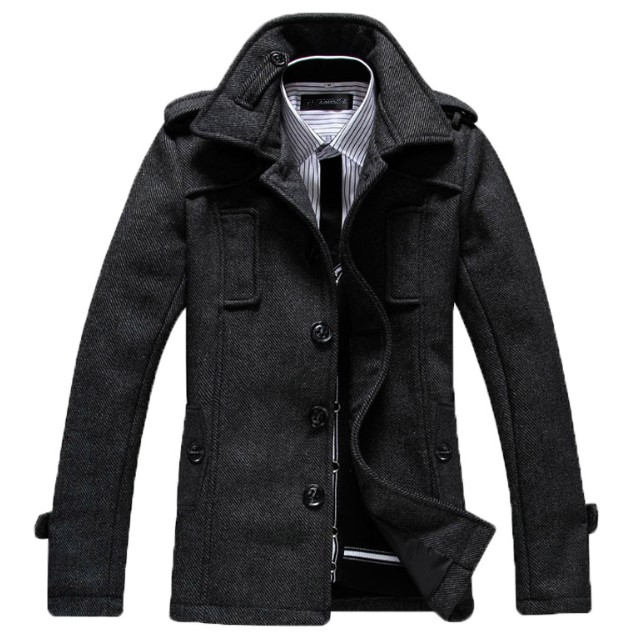 winter warm cloth coats western fashion men coat model
