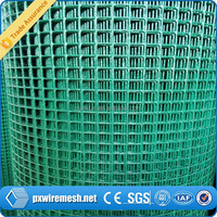 alibaba china high quality and cheap galvanized welded wire mesh / 1/2 inch plastic coated welded wire mesh