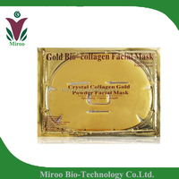 Luxury Gold bio-collagen crystal face mask ,Bio collagen gold facial mask