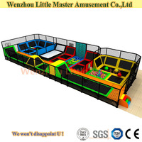 (LM-Tr015) Big Multifunctional Commercial Trampoline for Dubai