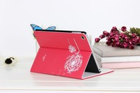 Flip cover for ipad air tablet case / protector housing for ipad 5 pu case / simple for ipad air customize case