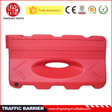 New Plastic Water filled Blow molding One hole Road Safety Barricades