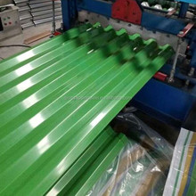 Prepainted zinc Aluminum corrugated steel roofing sheet for decoration material