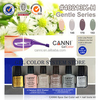 40213b CANNI factory china top ten selling products gel color set nail kit