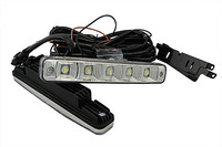waterproof DRL led daytime running light Car LED Auto Light car External Lights Fog Lamp Headlight