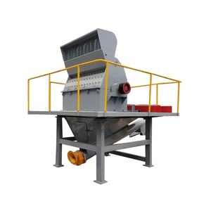 large wood sawdust recycling hammer mill crusher machine
