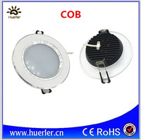 Aluminum 220V 110V AC 3000k 6500k 3W led ceiling light cob led downlight