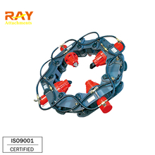 roundish pile breaker for cutting concrete pillar Pile Cutter Crushing Tool Block Pile Breaker Machine