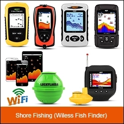 LUCKY FF918WLS portable fishing equipment hot sale boat fish finder for outdoor sport