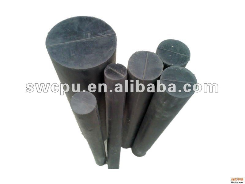 Hard nitrile rubber rod