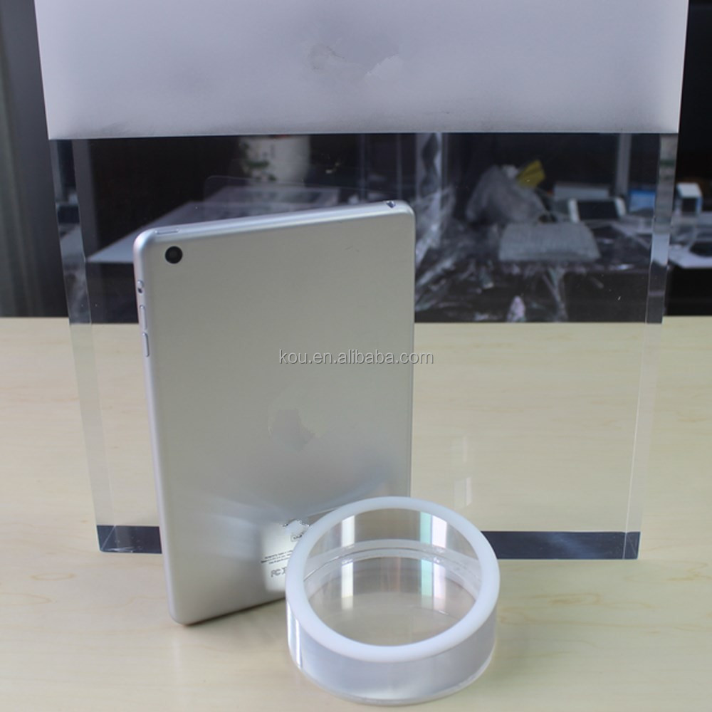 Factory wholesale solid acrylic display stands for ipad mini