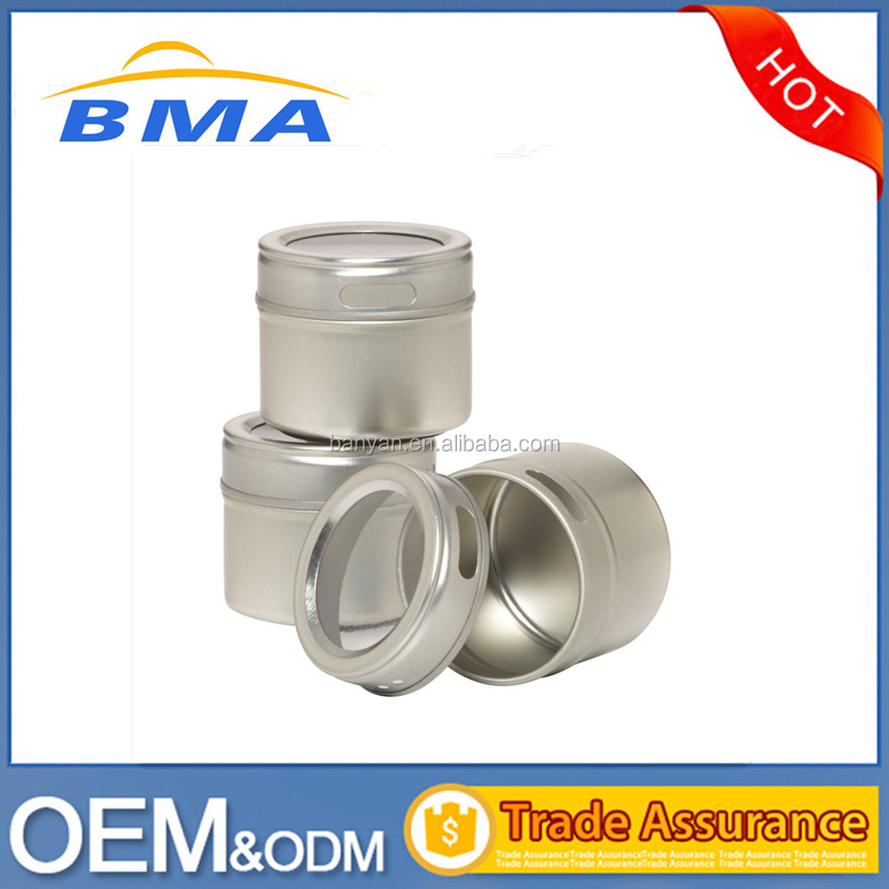 2016 3 Pieces Stainless Steel Magnetic Spice Container