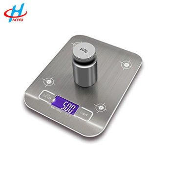 HY-GY07 Slim stainless steel electronic digital kitchen scales