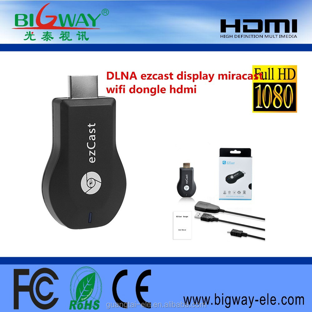 Anycast Miracast Mirascreen Tv Dongle Google Latest Ezcast V5ii Wifi Suppliers And Manufacturers At