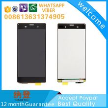Best quality manufacturer for Sony xperia z3 lcd display with original color