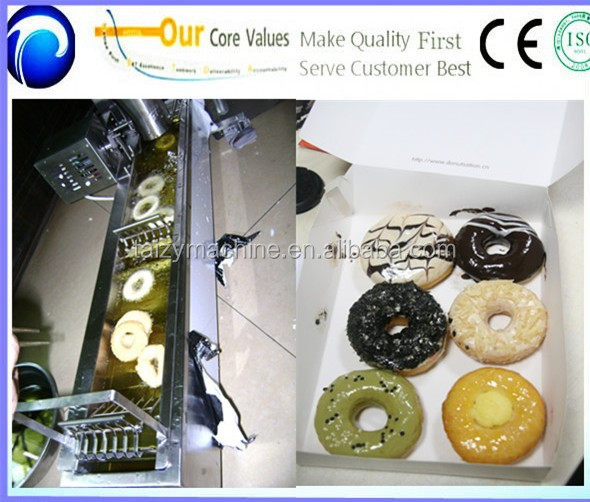 Automatic mini donut machine donut making machine for sale from Henan supplier