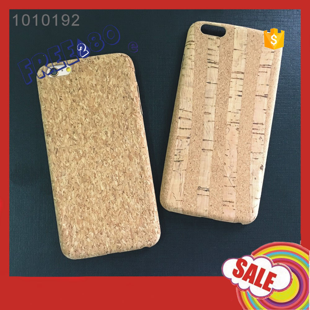 2016 2 Colors 4.7/ 5.5inch Cork Pattren Design PU Soft Mobile Phone Case for iphone 6 6s plus