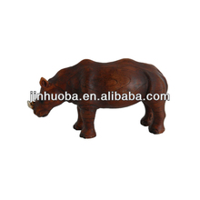Decorative Resin rhinoceros Statue for home decoration crafts