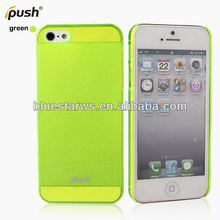 Best quality Colorful Hard Case Plastic phone accessories phone cover For iphone 5