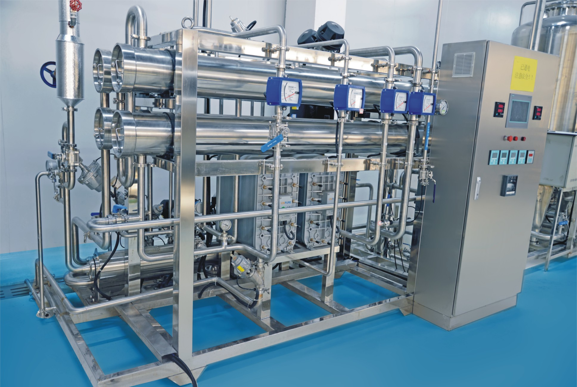 250 -6000 LPH Fully Automatic Domestic Commercial Ro Plant