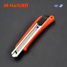 18MM Snap-Off Blade Cutter with Auto Lock & Metal Chamber Plastic Cutter Knife