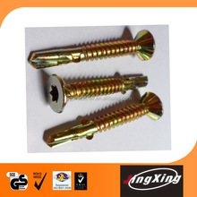 Self drilling screw with wings very competitive price