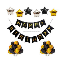 18th birthday party decorations with Happy Birthday Banner birthday party stage decorations