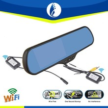 5 Inch Android 4.1 System wireless wifi loop recording GPS bluetooth vehicle black box car dvr rearview mirror