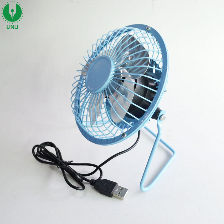 Promotional Gifts USB Powered Metal Personal Table Fan