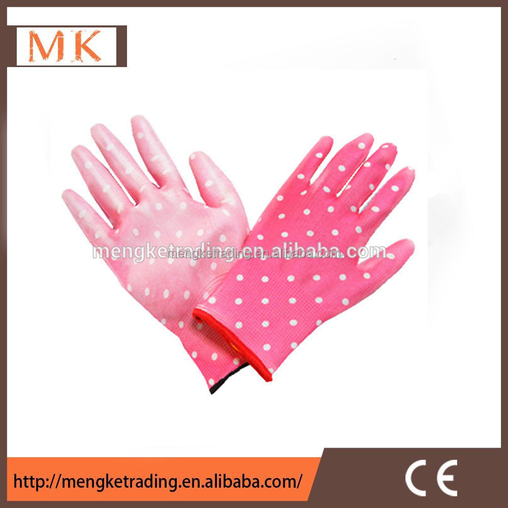 computer assembly gloves with 13G pu coated