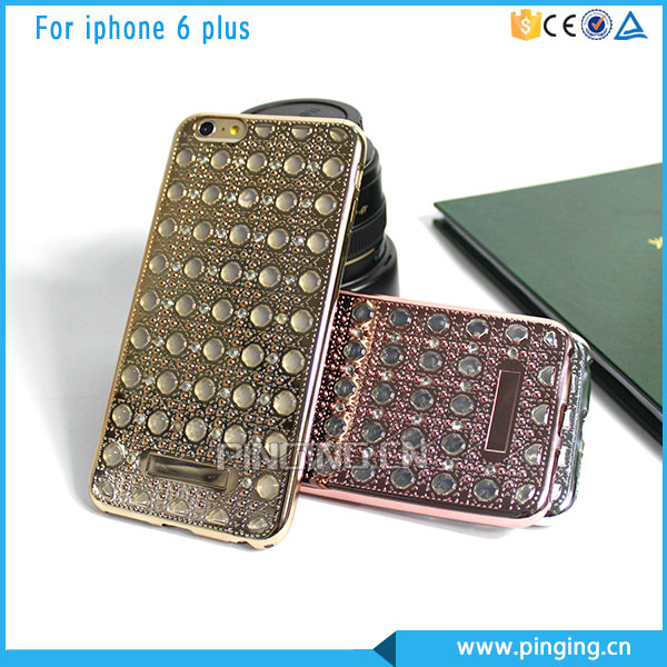 New Product Diamond Agate Electroplate TPU Case For iphone 6 6s Plating Case
