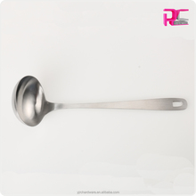High Quality Stainless Steel Soup Ladle in Satin Polishing