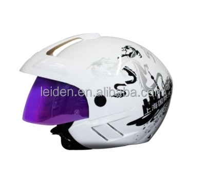 color customized free shipping double visor open face helmet motor helmets