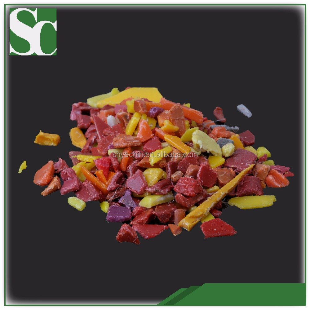 B3318 Plastic Masterbatches PE Yellow/Red scrap plastic drums bottles price per ton