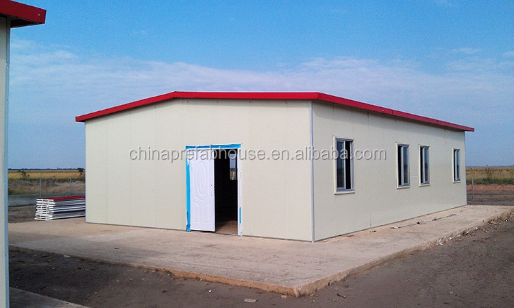 High quality Sandwich panel prefabricated house in algeria