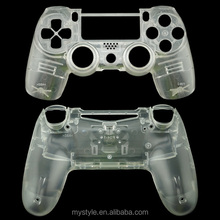 Transparent Clear Replacement Housing Parts for Playstation 4 PS4 Controller Shell