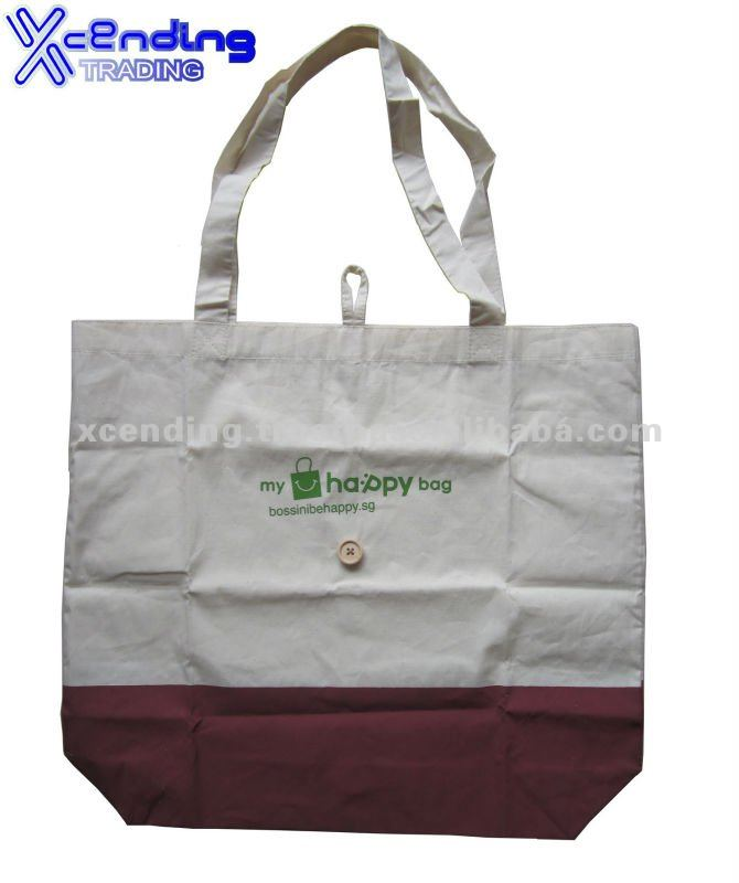 Singapore customized foldable Canvas Bag cotton bag