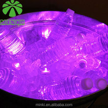 Decorative battery mini submersible underwater led light